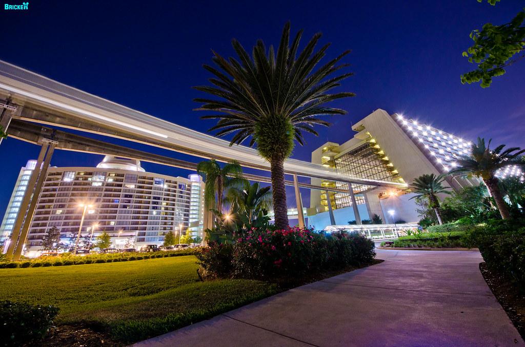 Disney 39 S Contemporary Resort Lake Buena Vista Florida Wal Flickr