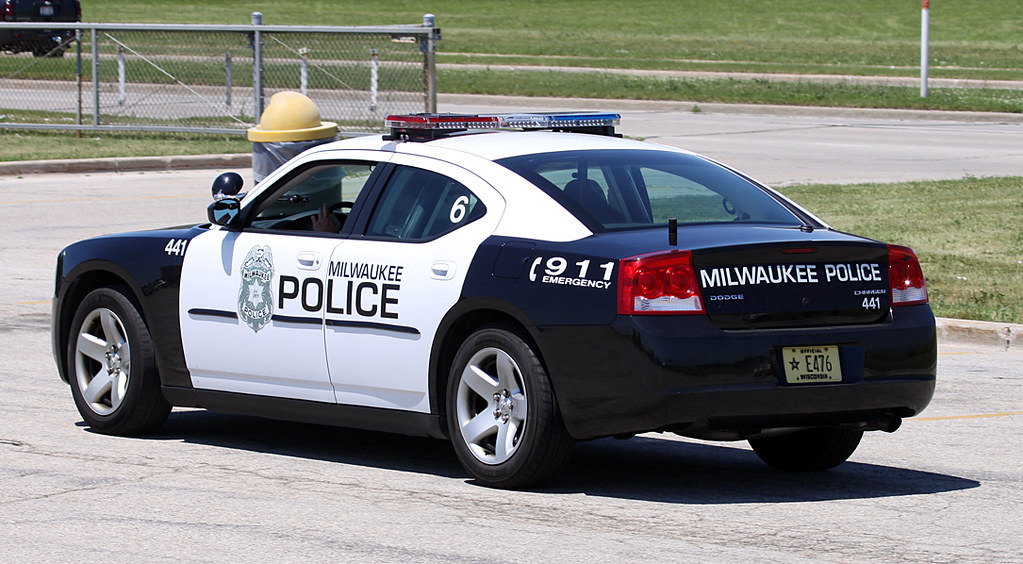 Milwaukee Police Department Dodge Charger Sporting The