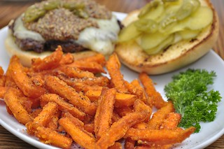 Mmm... sweet potato fries | by jeffreyw