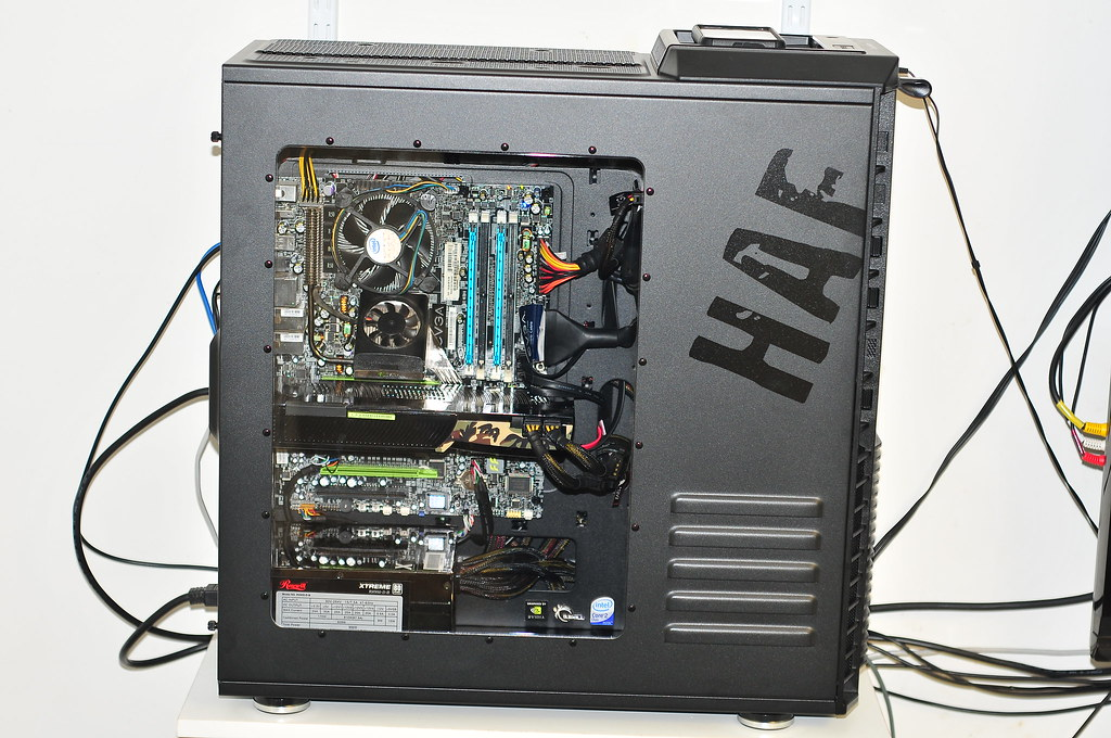 Cooler Master Haf 932 Advance With Optional Clear Side P