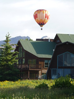 Balloon over Mount Crested Butte | by mount_evans