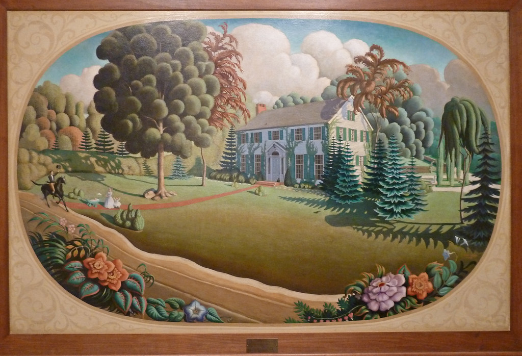 Grant Wood Paintings Pictures