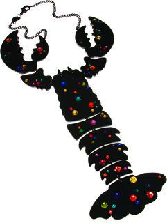 Lobster Necklace Tatty Devine