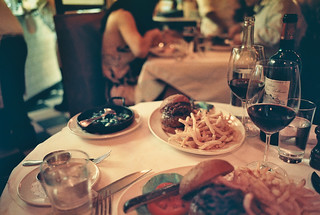 black label burger | minetta tavern | by naftels