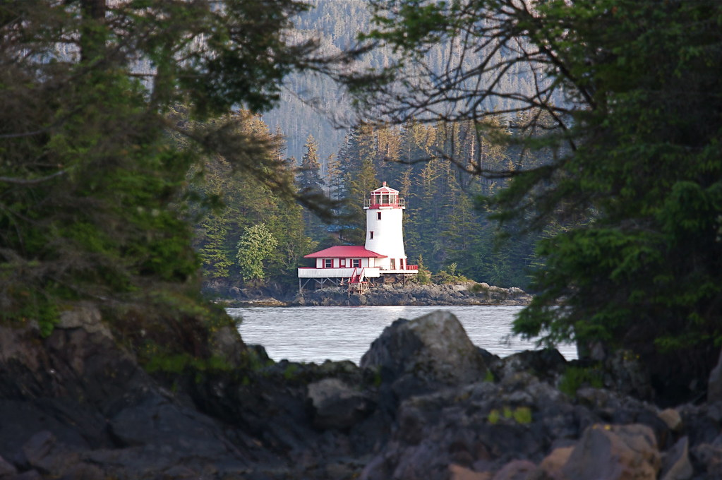 Rockwell Lighthouse In Sitka Ak Tatchum Flickr