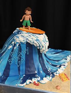 Wave Cake Ideas