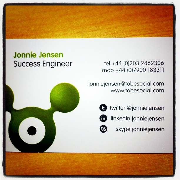 Social media profile on business cards do you have them flickr please share examples social media profile on business cards do you have them please share examples colourmoves