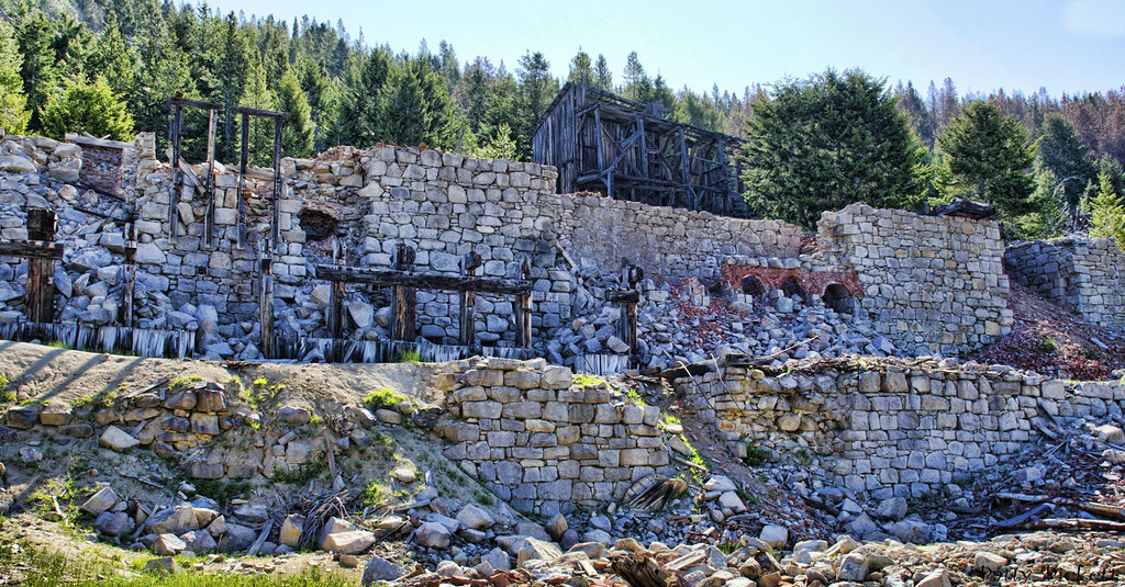 Granite mill granite ghost town state park montana flickr - Towne place at garden state park ...