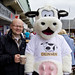 Andrew and Moula the Cow