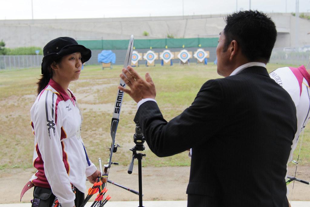 20110722アーチェリー山本博氏来...