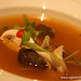 hot and sour broth, pork belly, tomato ginger at Grant Achatz's Next Restaurant Tour Of Thailand Menu Gluten-Free (12)