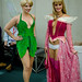 Tinker Bell and Barbie