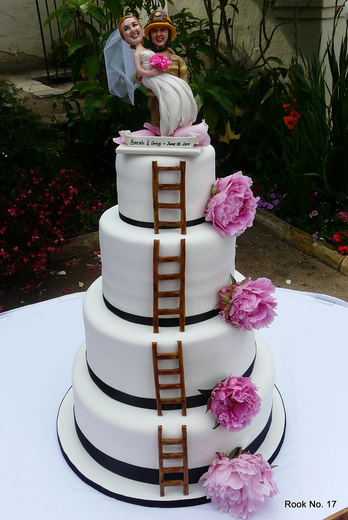 Firefighter Wedding Cake Jennifer Erickson Flickr