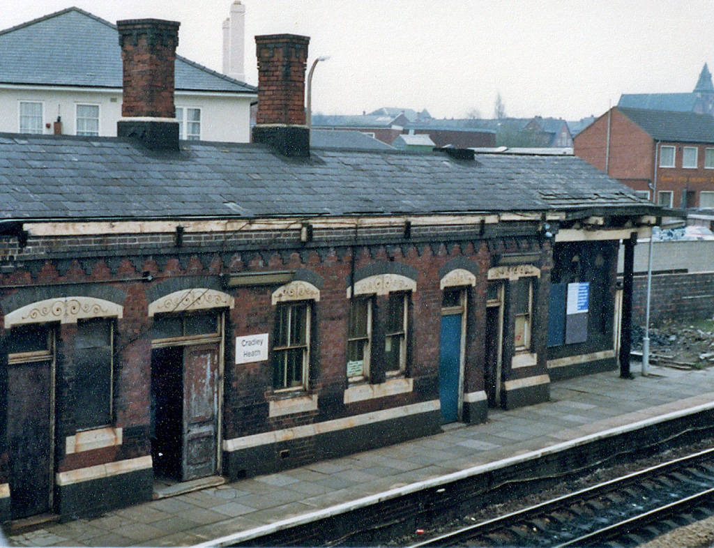 Cradley Heath All Change 1980 S The Old Station