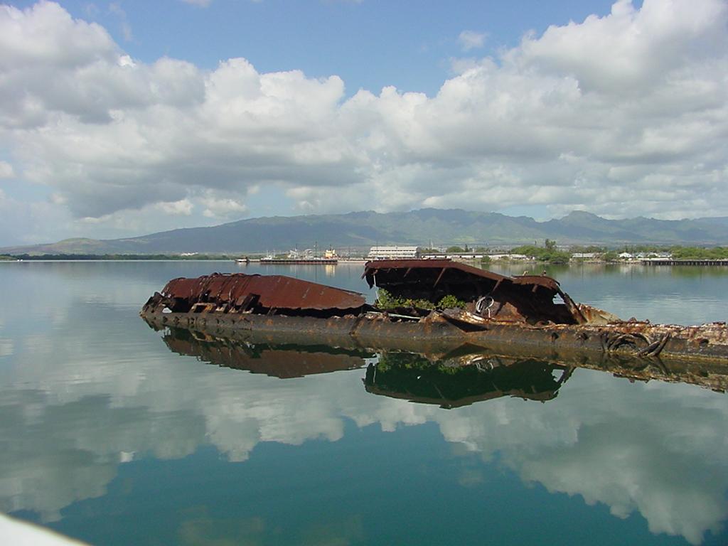 Uss Utah Ford Island Honolulu Hawaii