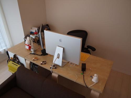 Living Room Workspace Window