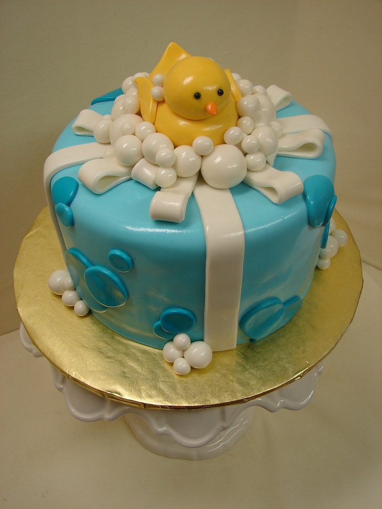 Rubber Ducky First Birthday Cake Rubber Ducky First Birthd Flickr