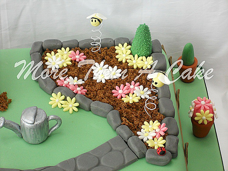 Gardening Cake | This cake was ordered by a lady in Dubai. S… | Flickr