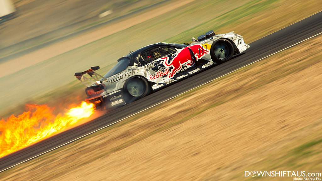 Mad Mike Rx7 Throwing Flames Andrew Foy Imaging Flickr