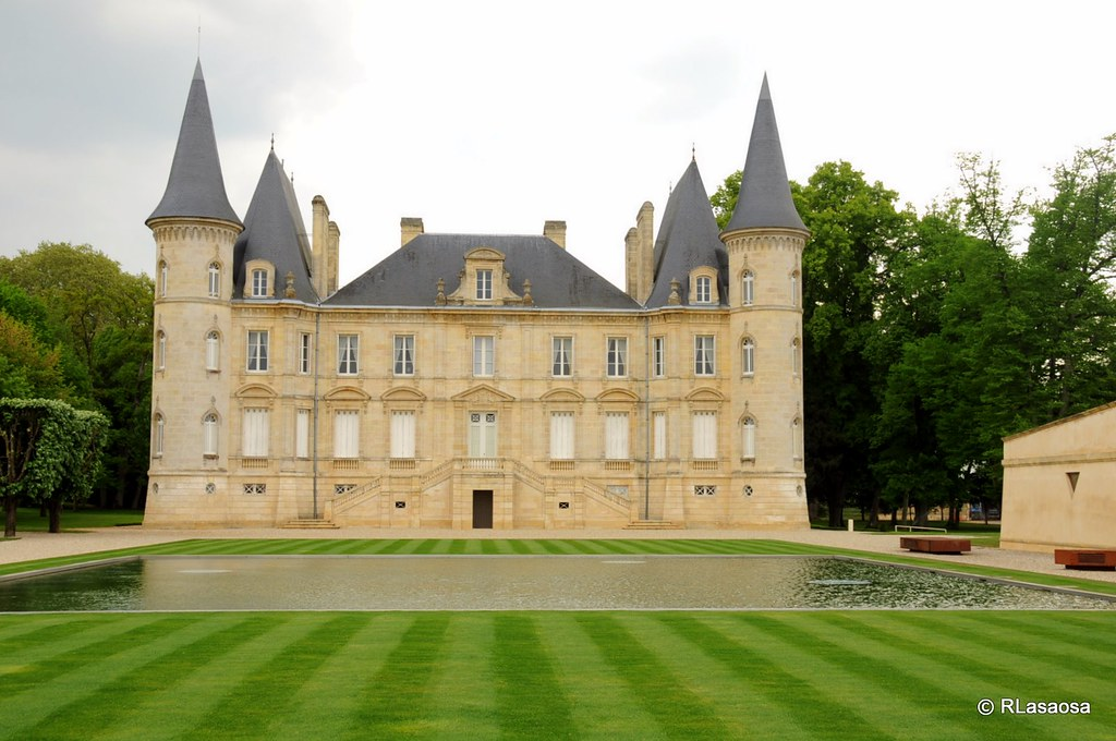 Chateau-bodega cercano a Burdeos