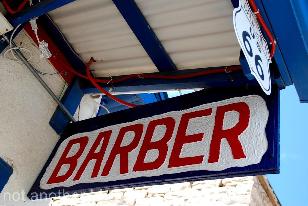 Las Vegas, Nevada - Route 66 signs - Barber monchichi10 Flickr