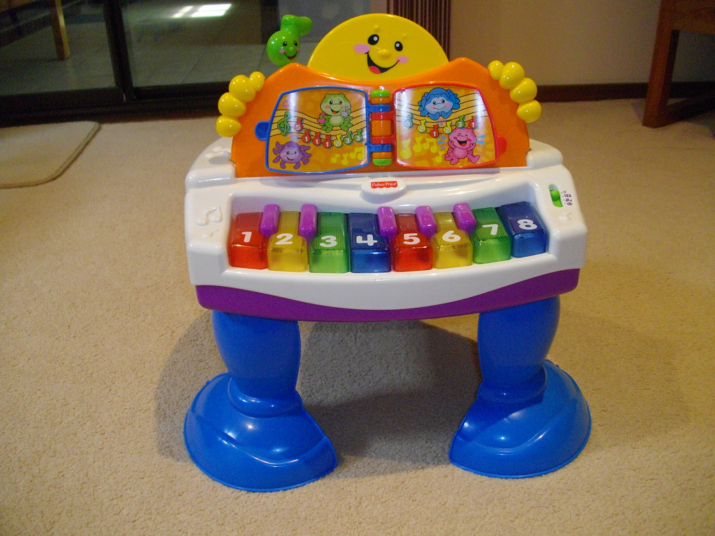 Fisher Price Interactive Baby Grand Piano Laugh Learn ...
