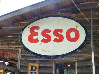 Old Esso Metal Sign | by slade1955