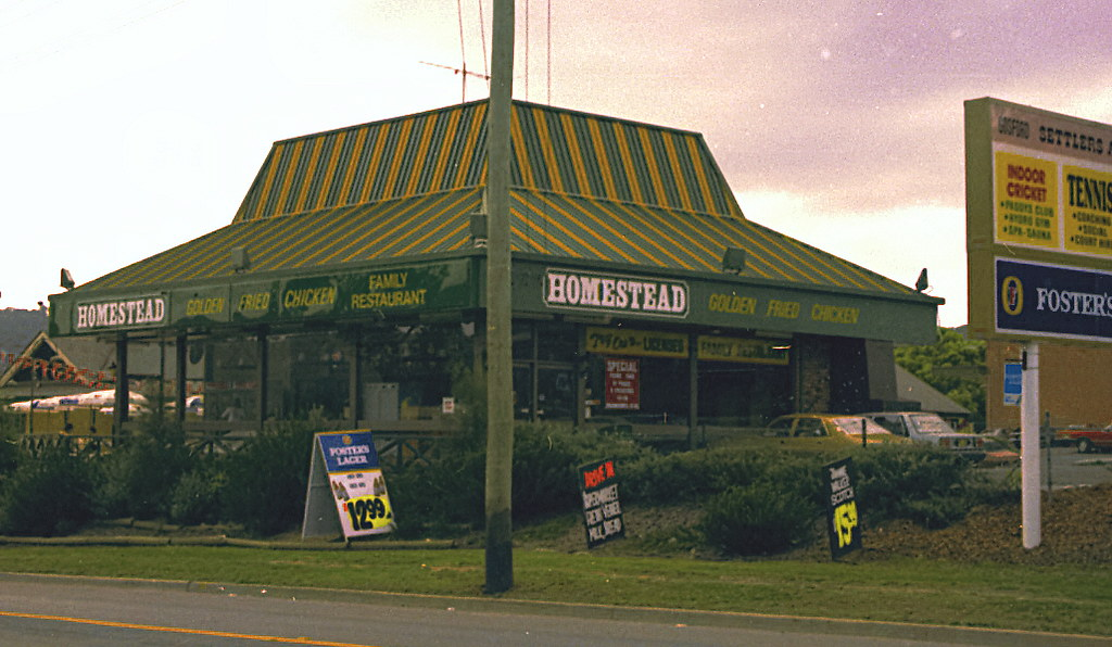 Homestead Fried Chicken Outlet West Gosford 1986