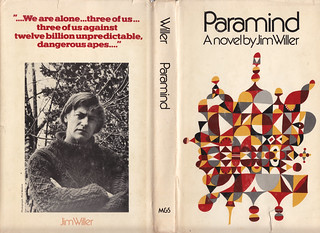 Book jacket for Paramind by Jim Willer | by ouno design
