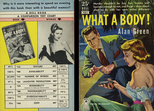 Dell Books 483 - Alan Green - What a Body! (with back) | by swallace99