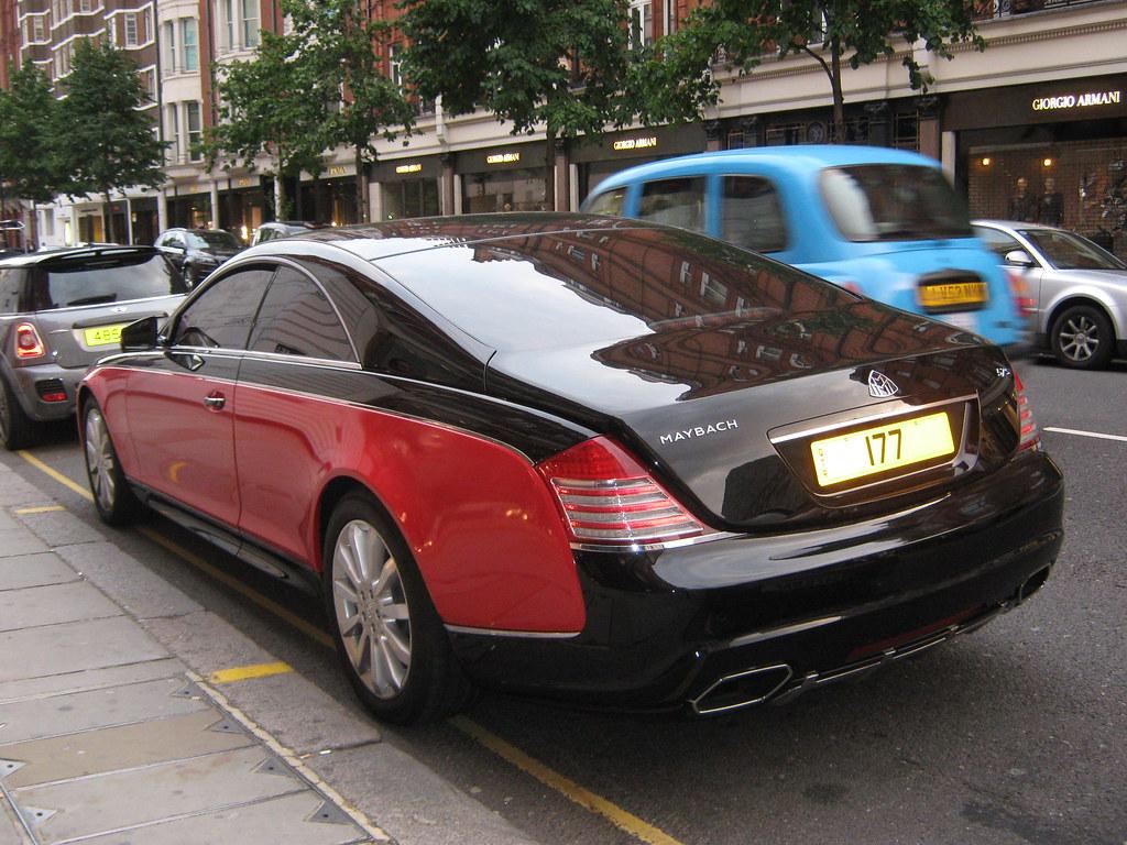 maybach coupe and black rear xenatec maybach 57s