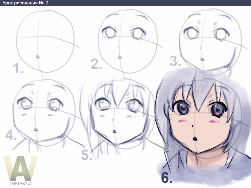 Its interesting to learn how to draw an anime step by step
