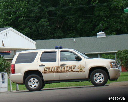 Warren County Indiana Sheriff Truck Williamsport