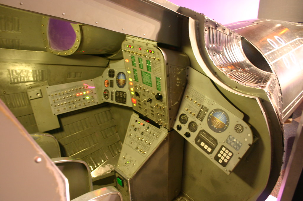 Terms Of Use >> Gemini Capsule Module Control Panel | Taken at the Pacific S… | Flickr