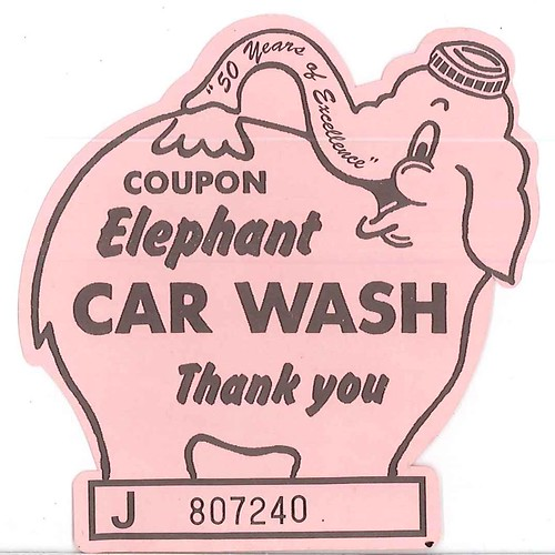 The Pink Elephant Car Wash Coupon