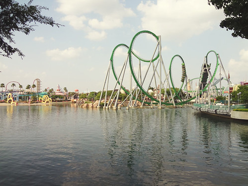 The Hulk Rollercoaster @ Islands of Adventure | Orlando, FL | by Wayfaring Wanderer