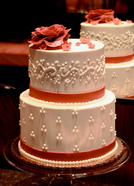triple swiss dot wedding cake swiss dot and flourish wedding cake scrumptious 21270