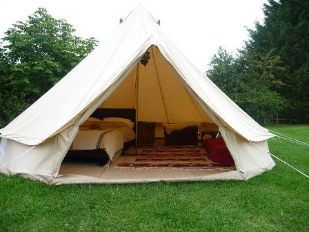 ... gl&ing bell tent hire from dorset country holidays and events .dche.co. & glamping bell tent hire from dorset country holidays and eu2026 | Flickr