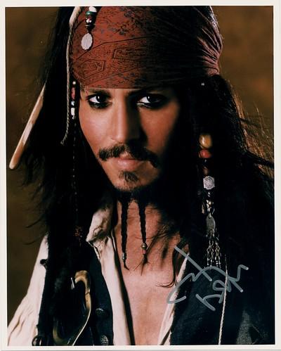 Johnny Depp Autograph ...