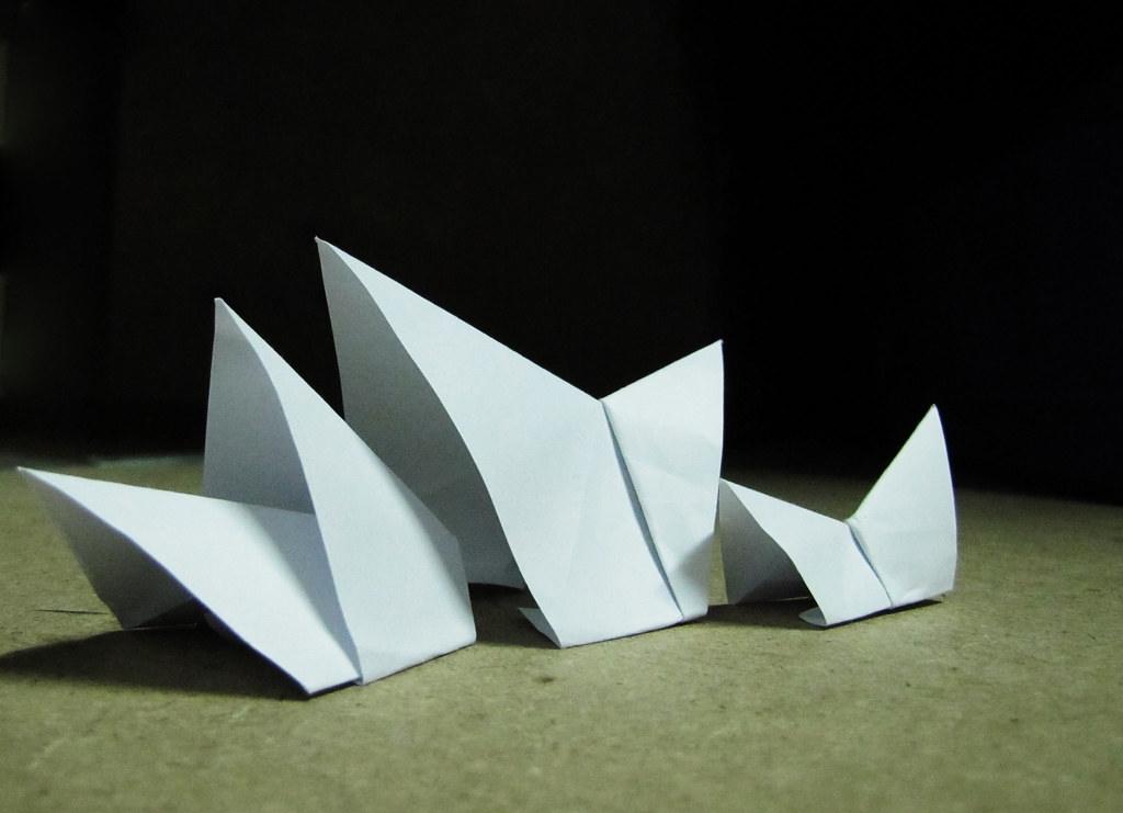 Origami Architecture Sydney Opera House Just A Simple