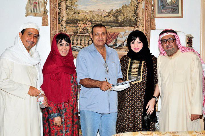 الفنان عبدالله السدحان و الفنان ناصر القصبي و الفنانه سناء Flickr