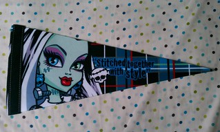 Monster High Pennant: Frankie | by xClaribelx