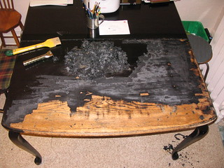 Refinishing Kitchen Table And Chairs