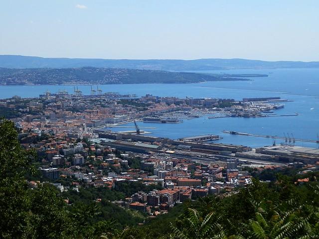 Trieste view from the obelisco near villa opicina flickr photo sharing - Bagno san rocco muggia ...