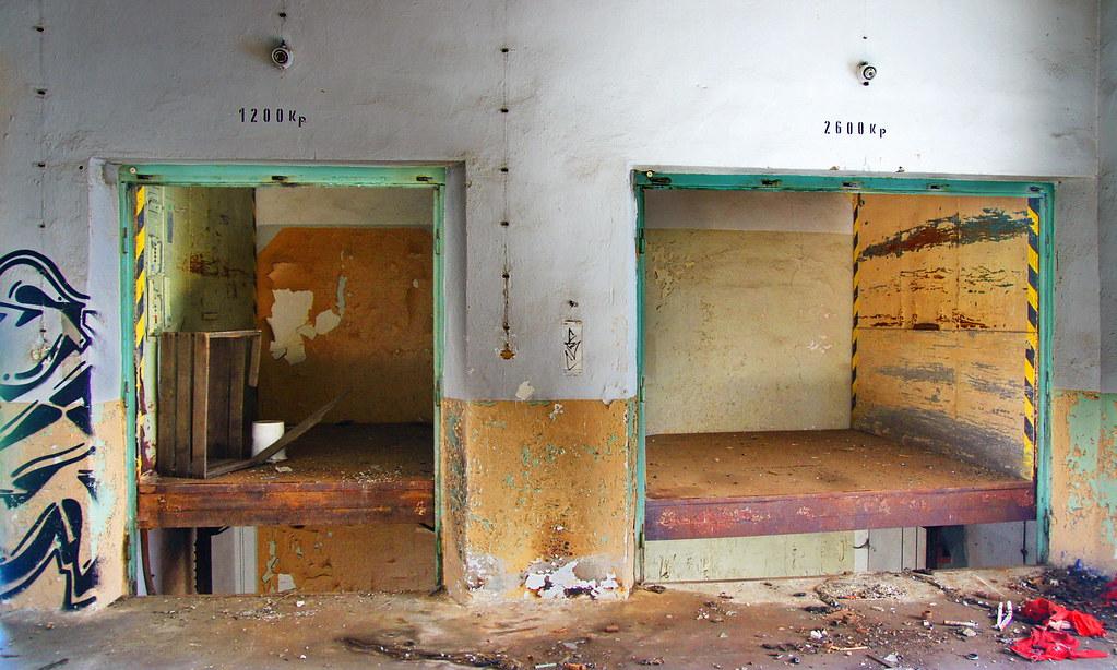 Stillstand Chemnitz Germany Cold Storage Depot Of The