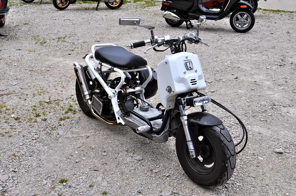 Honda Ruckus With Mods Dana Freeman Flickr