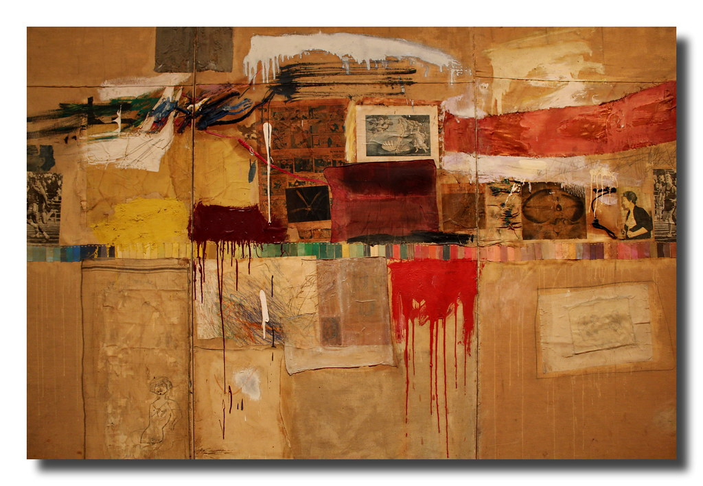 robert rauschenberg Robert rauschenberg's approach to art making was expansive and generous and his works reveal his sharp-eyed observations harvesting imagery and ideas from the daily news, politics, popular culture, and from his vast circle of friends and fellow artists, he created works which were a prescient harbinger of today's.