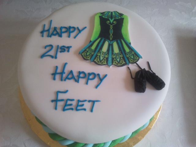 Irish Themed Birthday Cakes