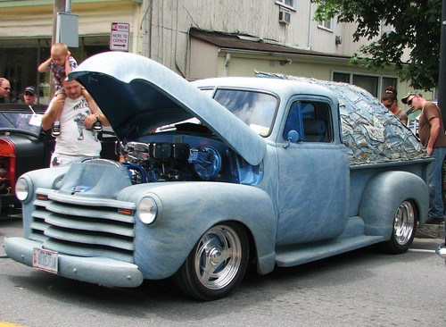Custom 1951 chevy truck in 2011 a wacky but cool custom for Sawyer motors used cars