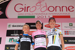 Emma Pooley - Giro Donne, stage 10 | by Team Garmin-Sharp